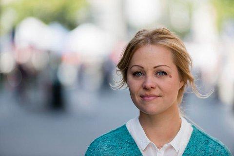 RØDT: Eivor Evenrud er gruppeleder og førstekandidaten til Rødt i Oslo ved høstens valg.