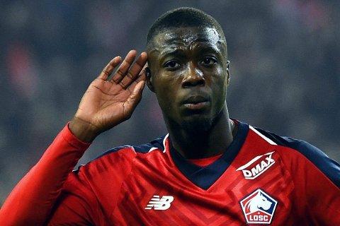 HØRER PÅ BUD? Lille-angriperen Nicolas Pepe har fått mange til å høre ekstra godt etter når det snakkes om prestasjonene hans på fotballbanen.