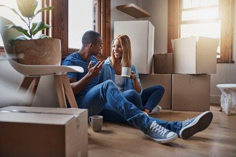 Har dere en samlet høy inntekt får du gjerne låne flere ganger årsinntekten enn om dere tjener lite.
