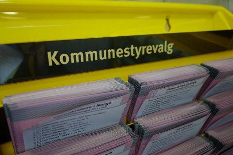 9. september er det valg til kommunestyre- og fylkesting. Fredag offentliggjorde Valgdirektoratet alle valglistene.