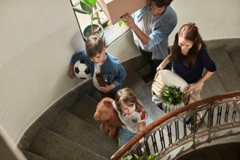Mange unge barnefamilier får forskudd på arv i forbindelse med kjøp av bolig.
