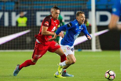 VESTOVER FRA VEST: Branns og Vito Wormgoor møter et irsk lag, mens og Mattias Moström og Molde får en motstander fra Island som første hinder på vei mot Europa League.