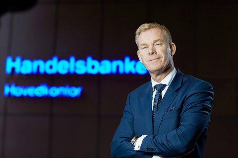STERK UTLÅNSVEKST: Adm. direktør Dag Tjernsmo i Handelsbanken Norge har en sterk utlånsvekst, noe de kollektive utlånsavtalene bidrar til.