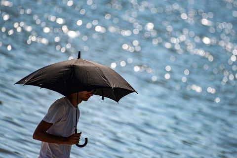HETEBØLGE: I juni ble temperaturrekorder knust flere steder i Europa, blant annet på grunn av hetebølgen som rammet flere land hardt. Bildet er tatt i Göttingen i Tyskland 30. juni.