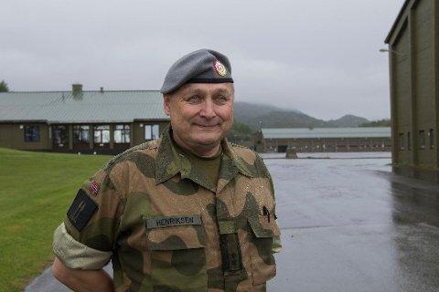SOLDATER SKADET I ØVELSE: – Vi har nå 27 soldater inne til observasjon på sykehuset i Mosjøen. Der skal de etter HMS-reglene ligge i minst 24 timer, sjef for HV-14, oberstløytnant Bengt Henriksen.
