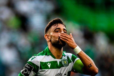 PÅ VEI TIL STORKLUBB: Sportings Bruno Fernandes.