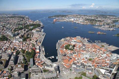 OSLO FORBIGÅTT: Rogaland er landets største pengemaksin viser ferske tall fra næringslivet. Illustrasjonsfoto Stavanger.