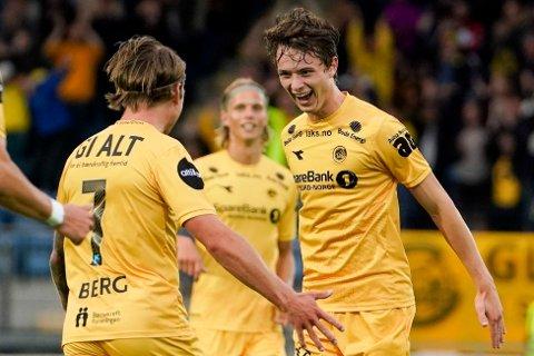 TIL NEDERLAND: Håkon Evjen er solgt til nederlandske Alkmaar. Han spiller ut sesongen for Bodø/Glimt.