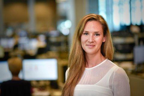 SPÅR UENDREDE RENTER: Jeanette Strøm Fjære i DNB Markets spår uendrede renter i tre år fremover.