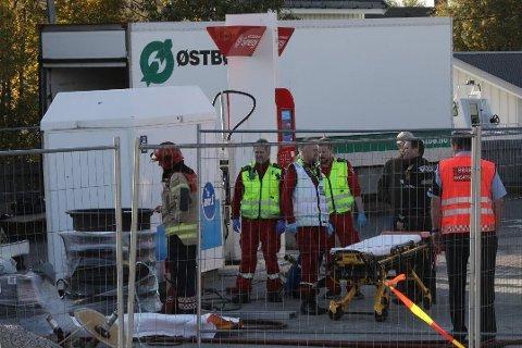 En person antas å være alvorlig skadet etter gasseksplosjon ved Esso Tverlandet.