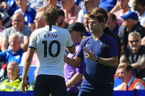 TUNGE TIDER. Harry Kane, Mauricio Pochettino og Tottenham er inne i en tung periode.
