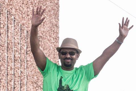 FREDSPRISVINNER: Abiy Ahmed, her fotografert i juni 2018, gikk inn i politikken i 2010 og ble minister for forskning og teknologi i Etiopia i 2016 og statsminister fra 2. april 2018.