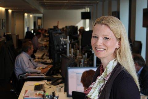 LITE NYTT: Sjeføkonom Kari Due-Andresen i Handelsbanken Capital Markets tror ikke på noen nye rentesignaler fra Norges Bank torsdag.