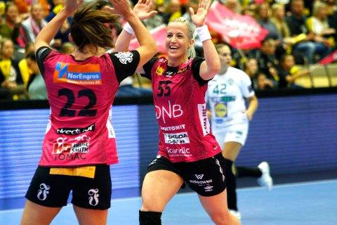 I SCORINGSFORM: Heidi Løke er i imponerende scoringsform for tiden.