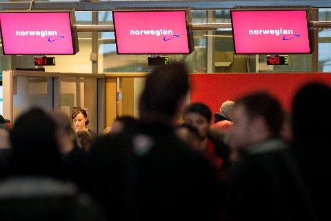 SLO SEG VRANG: En passasjer slo seg vrang på Gardermoen, da han ble fortalt han måtte betale for overvekt. Illustrasjonsfoto.
