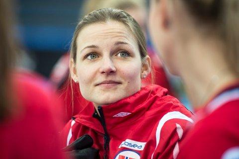 Skip Marianne Rørvik og det norske damelaget tapte tirsdag mot Tsjekkia i curling-EM. Foto: Carina Johansen / NTB Scanpix