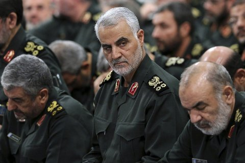 DREPT I DRONEANGREP PÅ FLYPLASSEN I BAGDAD: General Qasem Soleimani fotografert i september 2016. Fredag skal en av de mektige ledene i Den iranske Revolusjonsgarden ha blitt drept i et amerikansk droneangrep i Iraks hovedstad Bagdad.