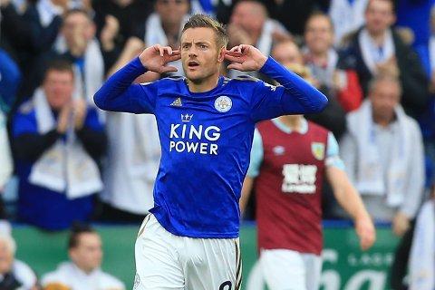 Leicester får tilbake Jamie Vardy til kveldens semifinale mot Aston Villa.