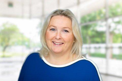 JUBLER OVER KVINNETALL: Daglig leder Kristin Skaug i Stiftelsen AksjeNorge gleder seg over kvinnetegningen i 2019.
