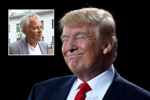 VIL ELSKE: Historiker og forfatter Tommy Sørbø har lyst til å elske Trump.
