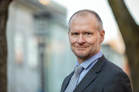 VIL ØKE FORMUESBESKATNINGEN: Henning Lauridsen i Eiendom Norge vil kutte ut dokumentavgiften og lokal eiendomskatt mot full formuesbeskatningen av boligen du bor i.