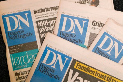 UNDERSKUDD: DN-eier gikk i underskudd før skatt i 2019.