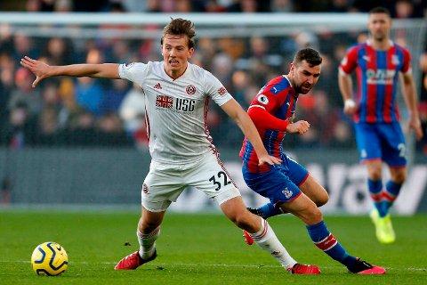 Sheffield United og Sander Berge (t.v.) kjemper for en plass i neste sesongs Champions League.