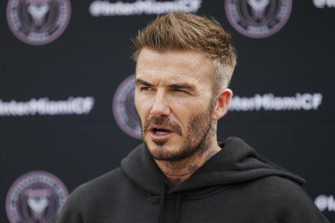 STØTTER SOLSKJÆR: Tidligere Manchester United-spiller David Beckham.