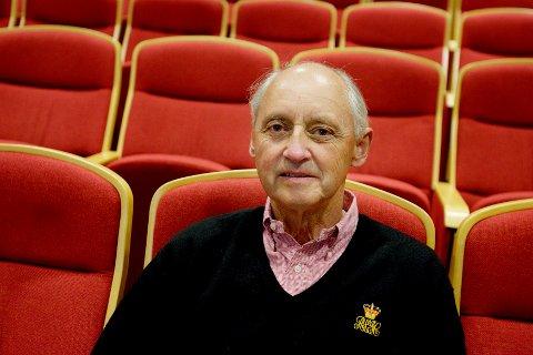 Wilhelm Wilhelmsen døde lørdag 22.02.20. Dette bildet er tatt i 2007.