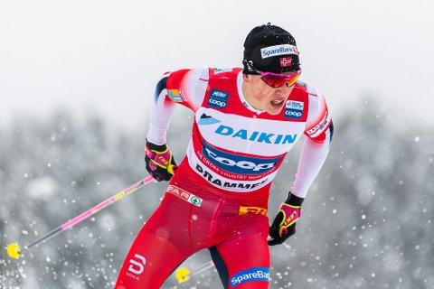 SEIER: Johannes Høsflot Klæbo vant på Konnerud.