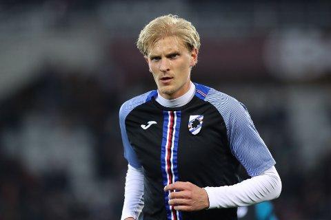 KORONASMITTET: Sampdorias Morten Thorsby.