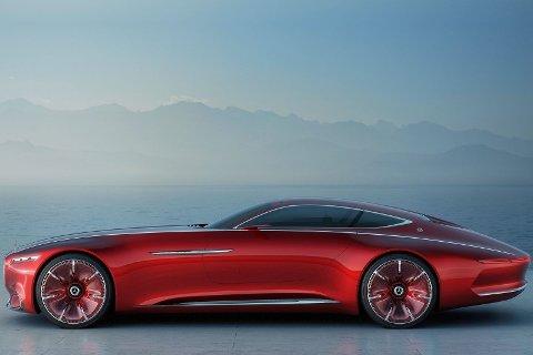 Vinn eller forsvinn-milliardsatsing: Den bilprodusenten som ikke har lykkes med elbiler om 10 år vil med sikkerhet forsvinne. Her en overdådig el-konseptbil fra Mercedes.