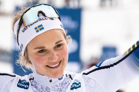 BYTTER: Neste sesong blir det skiskyting på Stina Nilsson.