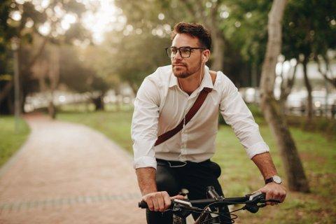 Sykkel er kanskje det aller beste fremkomstmiddelet når du vil fort frem i hverdagen.