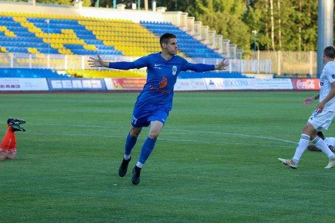 MontenegrinerenDusan Bakic scoret som innbytter i første serierunden mot BATE Borisov, men han får neppe starte fredagens kamp likevel. Foto:FC Energetik-BGU Minsk