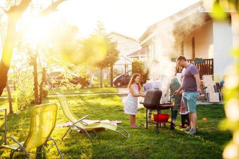 En hage kan være både et sted å være, et sted å lage mat og et sted for visuell nytelse.