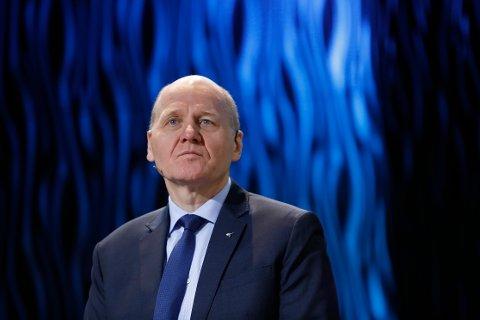 TJENER BRA: Telenor-sjef Sigve Brekke tjente snaut 11 millioner for 2019.