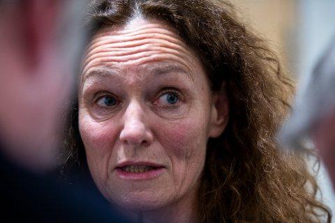 USIKKER: Camilla Stoltenberg er usikker på hva som er den rette koronastrategien, det svarer vet vi ikke før om et par år.