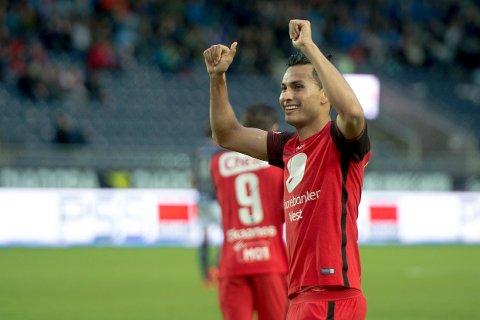 Deyver Antonio Vega Alvarez ble hentet til norsk fotbal av Brann i 2016.