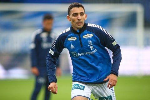 «Mos» Abdellaoue sto over mot Odd sist, men er trolig tilbake i startelleveren i lørdagens treningskamp mot Sandefjord.