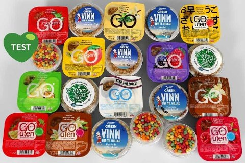 BREDT UTVALG: Det finnes mange forskjellige yoghurt-typer å velge mellom.