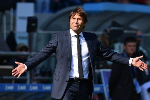 HAR OPPLEVD BEDRE: Inter-trener Antonio Conte. Her fra en tidligere kamp mot samme motstander.