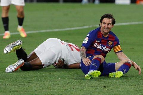 Barcelona-stjernen Lionel Messi fylte 33 år på onsdag. Foto: Angel Fernandez / AP / NTB scanpix
