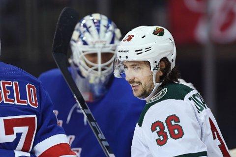 PLANEN KLAR: Mats Zuccarello er tilbake på isen når NHL-sesongen starter opp igjen