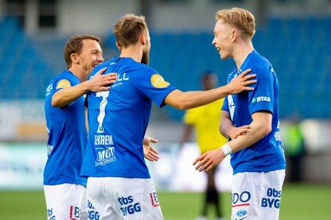 Molde knuste Start på onsdag. Om ikke lenge venter mesterligakvalifisering. Foto: Svein Ove Ekornesvåg / NTB scanpix