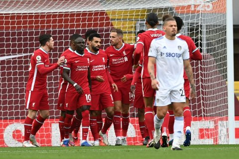 FYRVERKERI: Liverpools åpningskamp mot Leeds ble en målfest.