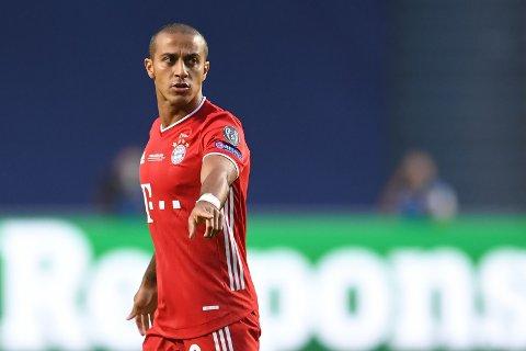 - PÅ VEI TIL LIVERPOOL: Bayern Münchens Thiago Alcantara.