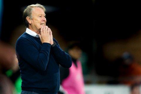 ENKEL SEIER: Åge Hareide og Rosenborg vant lett borte mot Ventspils.