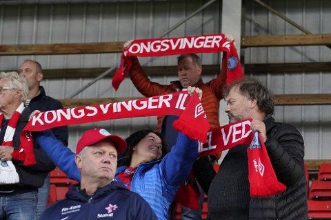 Kongsvinger-fansen opplever en tung sesong.