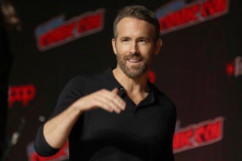 Ryan Reynolds er interessert i å kjøpe seg opp i Wrexham. Foto: Steve Luciano / AP / NTB scanpix